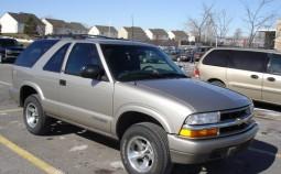 Blazer II (2-door, facelift 1998)