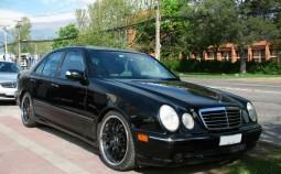 Clasa E (W210, facelift 1999)