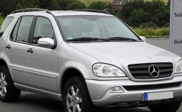 Clasa M (W163, facelift 2001)