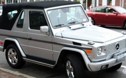 G-class cabriolet (W463, facelift 2000)