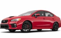 WRX Sedan (VA) (facelift 2017)